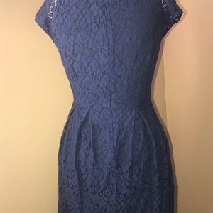 Madewell Dresses - Madewell Lacebloom floral lace fit & flare size 4